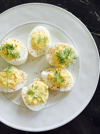 Dill Devilled Eggs