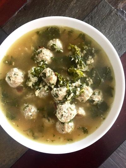 Italian Wedding Soup (Turkey Style)