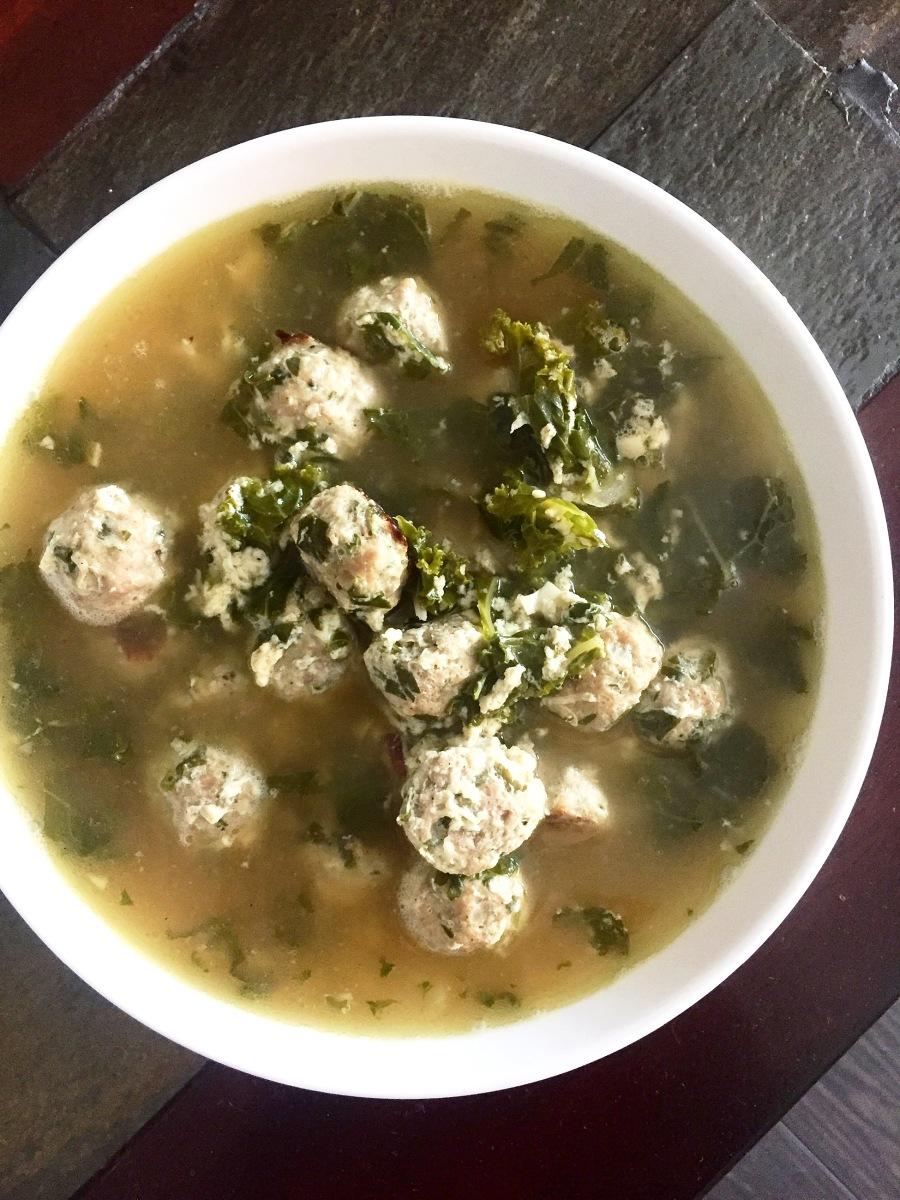 Paleo Italian Wedding Soup Turkey Style For The Love Of Paleo